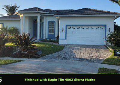 Completed Tile Roof Sierra Madre 4503 Gsd Construction