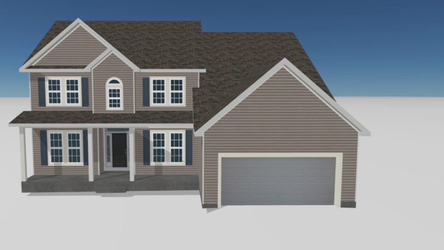 3D Rendering Of Your House