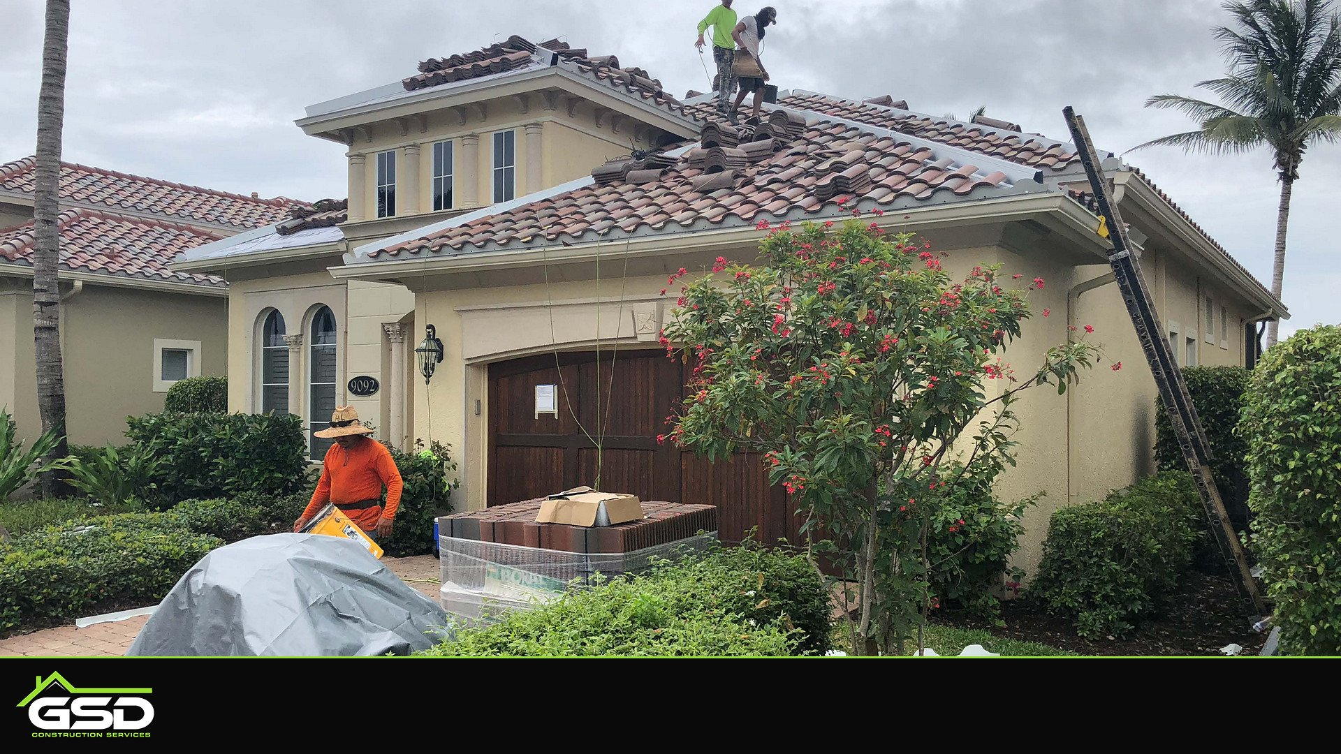 Cherry Oaks Marco Island Tile Roof Install and Completion ...