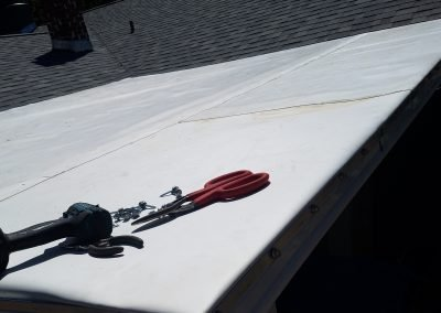 TPO Roof Install